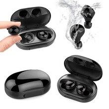 TWS C5 IPX8 Waterproof Bluetooth 5.0 Earphones True Wireless Earbuds Touch Contr