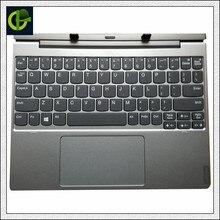 الأصلي والجديد الإنجليزية لرسو السفن لوحة المفاتيح مع palmrest ل 10.1 بوصة لينوفو D330 D335 2 في 1 اللوحي قاعدة غطاء الكمبيوتر المحمول الولايات المتحدة
