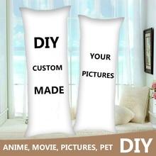 DIY Custom Made Anime Dakimakura Hugging Body Pillow Case DIY Printed Only One For You Throw