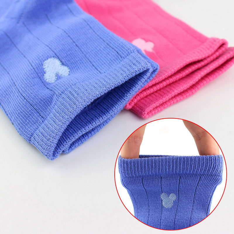 Disney Children's Socks Cotton Cartoon Mickey Mouse Short Baby Girl Socks Summer Soft Cute Boys Socks 5 Pairs/lot Suitable 2-12Y 3