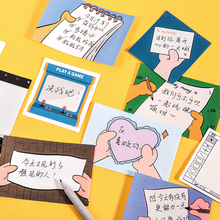 Stationery Memo-Pad School-Supplies Message-Material Diary Surfing-Series Kawaii Paper-Collection