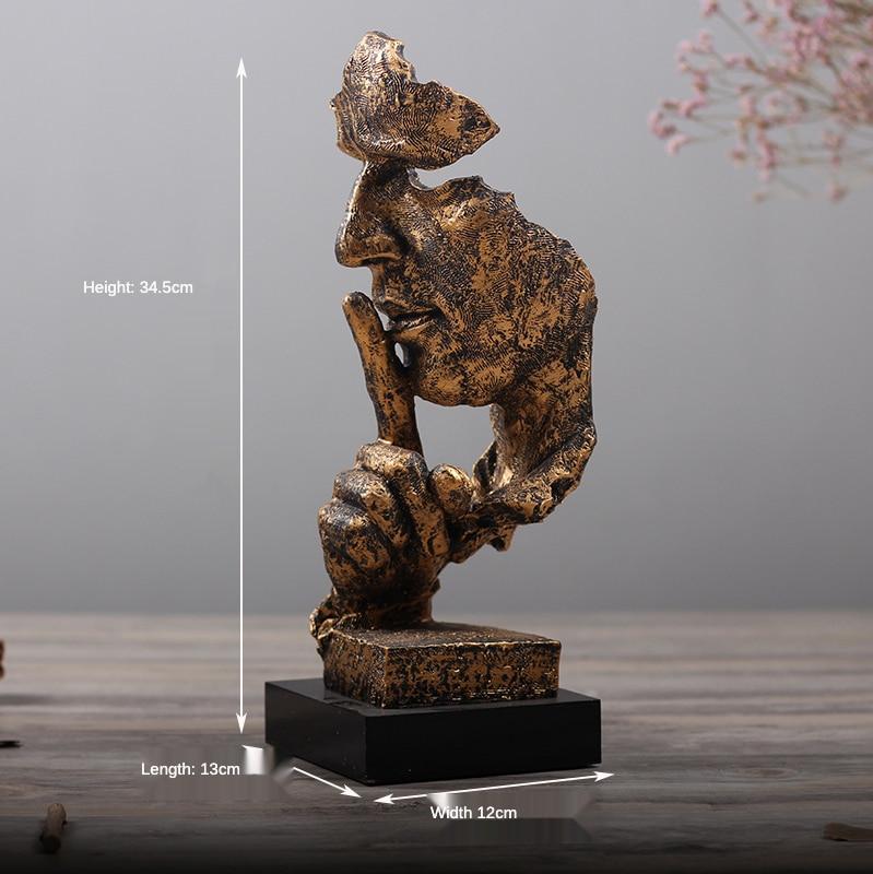 de mesa figura estátua decorativo salão de beleza