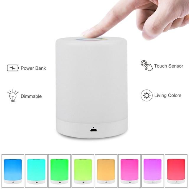 USB Smart Bedside Lamp  2