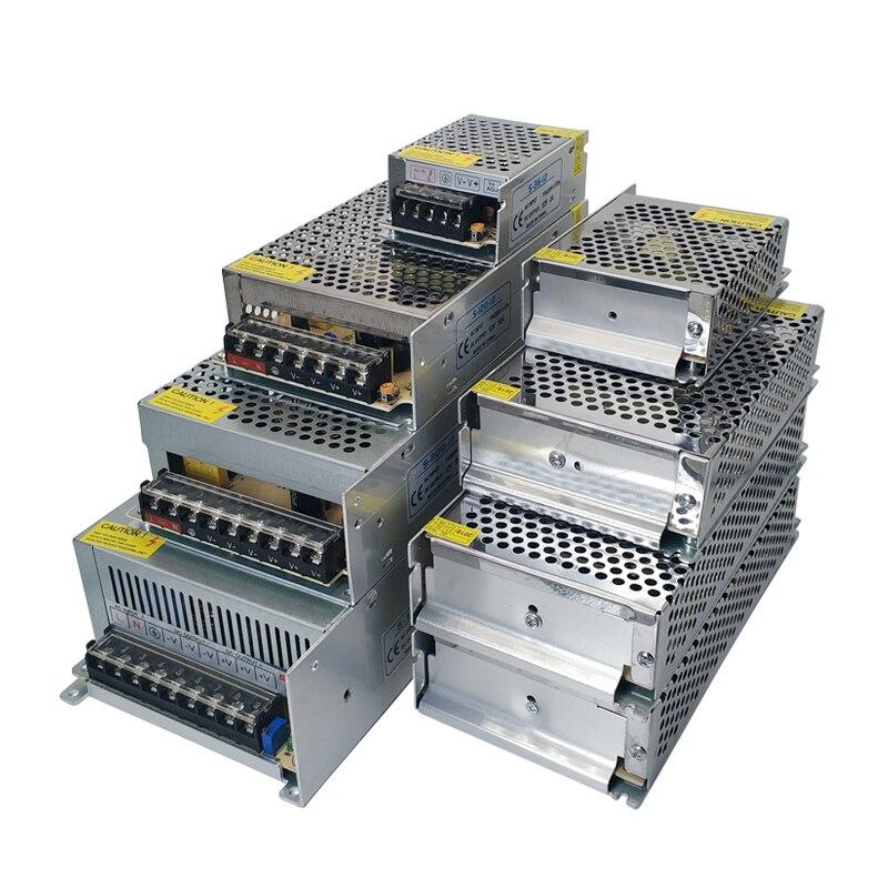 3V 5V 9V 12V 15V 18V 24V 36V Power Supply 1A 2A 3A 5A 6A 8A 10A - 50A Switching Power Supply 12 V Volt 220V to 12V AC-DC SMPS