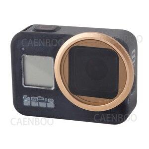 Image 2 - مرشح كاميرا Gopro Hero 8 ، عدسة سوداء ، حركة رياضية ، Hero8 ، عن قرب ND CPL ، مرشح قطبي ، ملحقات واقية