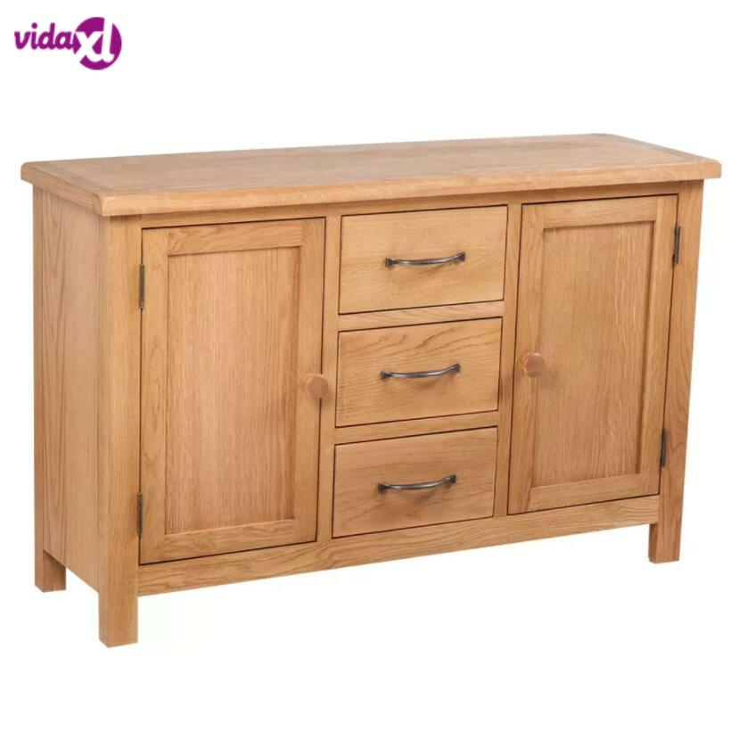 ><font><b>VidaXL</b></font> Buffet <font><b>Cabinet</b></font> Large Oak Dolap Kaplama Desk Dolabi Retro Meuble Cupboard <font><b>Kitchen</b></font> Furniture Sideboard <font><b>Cabinet</b></font>