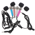 Горячая Распродажа ручной микрофон Портативный Мини 3,5 мм стерео микрофон аудио Микрофон для Мобильный телефон Аксессуары