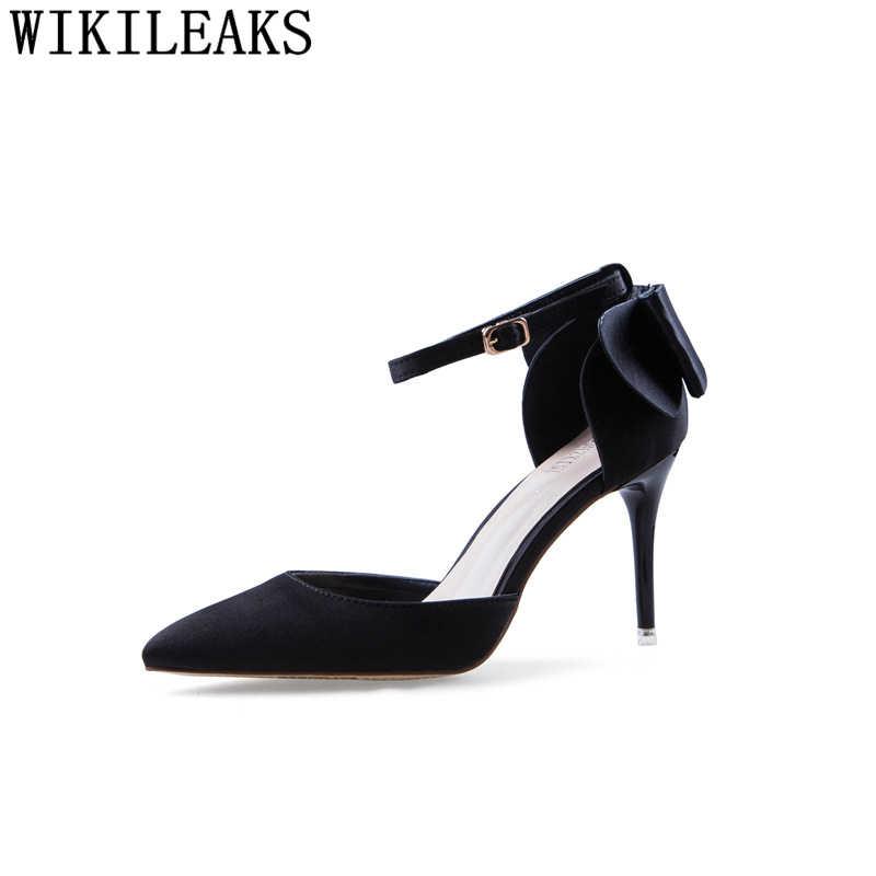 Ofis ayakkabı kadın extreme yüksek topuklu tasarım ayakkabı kadınlar lüks 2019 stiletto siyah yüksek topuklu seksi mary jane ayakkabı kırmızı topuklu