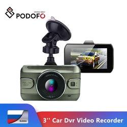 Podofo 2019 новая 3-дюймовая Автомобильная Dvr камера Full HD1080P Автомобильный видеорегистратор циклическая запись видеорегистратор камера ночного ...