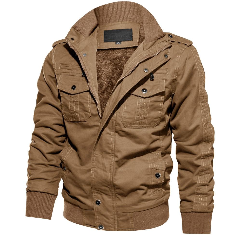 Mens MA-1 Jacket Military Cargo Pilot Cool Coats Bomber Jackets Outwear M-5XL