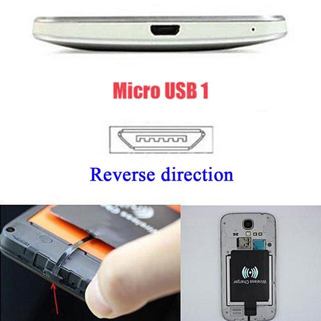 5V 1.5A QI padrão de Carregamento Sem Fio Receiver Adaptador Carregador Cartão de Módulo de Chip de Mat para Samsung para huawei para xiaomi