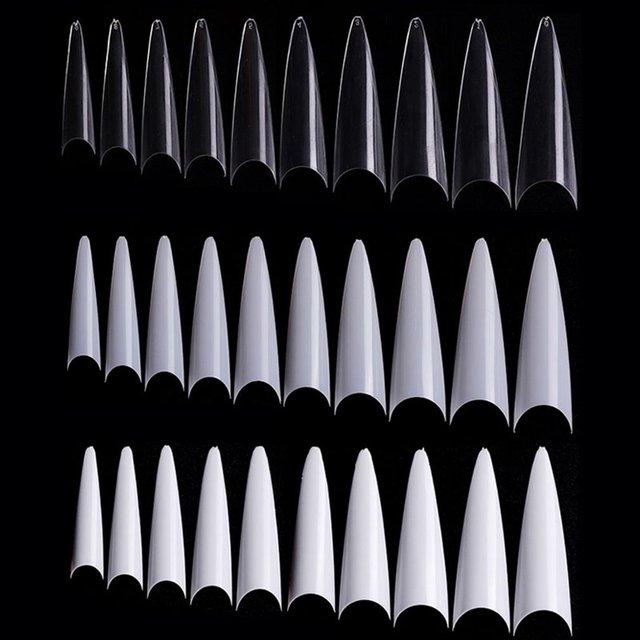 Купить 600 искусственная накладка для ногтей прозрачная акриловая французского картинки цена