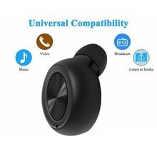 1 шт. Bluetooth 4,2 беспроводные наушники музыкальные портативные свободные руки открытый usb зарядка Спорт шумоподавление Магнитный Встроенный микрофон
