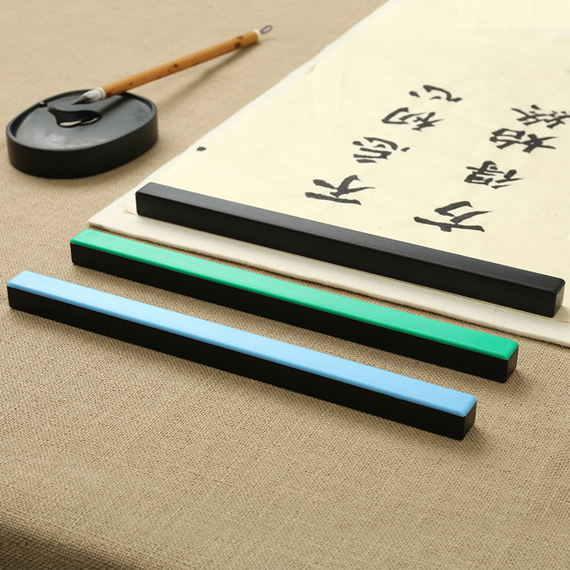 Multifunction Metal Paperweight Simple Paperweights Chinese Calligraphy Paperweights Colorful Creative Paper Pressing Prop