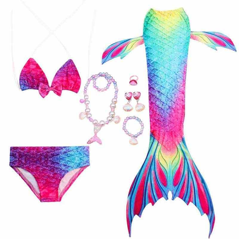 Meninas festa cosplay e traje de natação o pouco fantasia nadar sereia cauda vestido e bikini tops shorts roupas praia