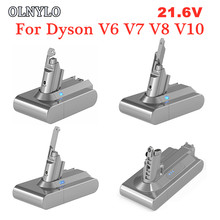 Перезаряжаемая батарея для пылесоса Dyson V6 V7 V8 V10, 21,6 в, 4000 мАч, батарея DC58, DC59, DC61, DC62, DC74, SV09, SV07, SV04