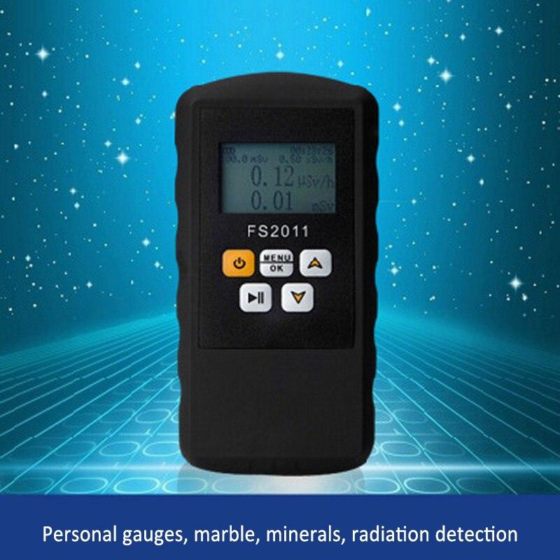 Détecteur de rayonnement nucléaire électrique Domestica multifonctionnel 24H en temps réel 3 types de surveillance d'alarme pour la Pollution de l'environnement