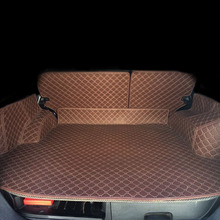 Lsrtw2017 Leather Car Trunk Mat Cargo Liner for Nissan X-trail t31 x trail 2007 2008 2009 2010 2011 2012 2013 Fengdu MX6 Rug цена