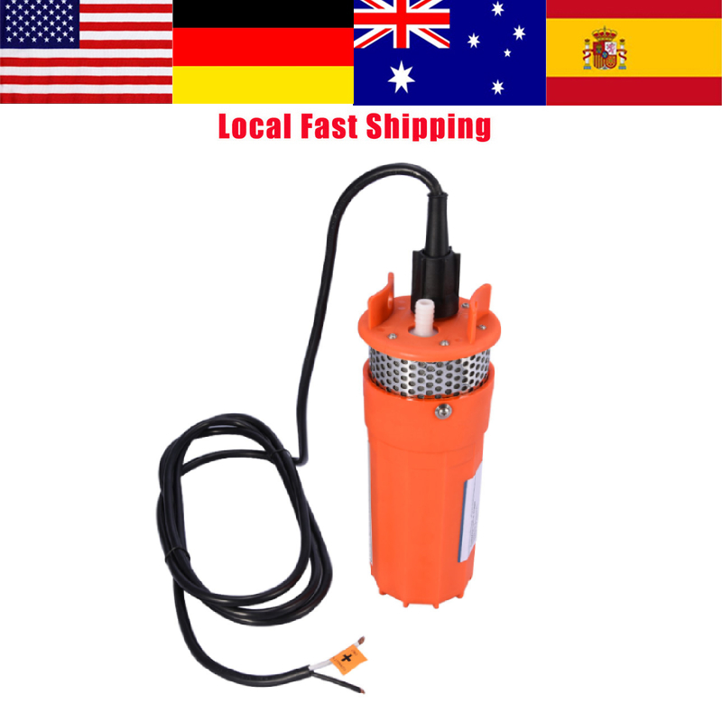 1pcs Ultra Quiet 1 2inch 12v Submersible Pump Dc Deep Well Water
