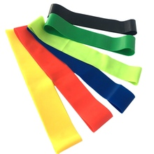 Resistance Bands Rubber Band Workout Fitness Gym loops Latex Yoga Strength Training Athletic KT01