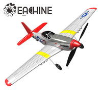 Eachine Mini P 51D EPP 400mm Wingspan 2.4G 6 Axis Remote Control RC Airplane Trainer Fixed Wing RTF One Key Return for Beginner
