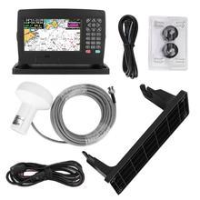 XF-607 7 дюймов цветной дисплей морской навигатор gps навигация локатор с диаграммой Интеллектуальный голосовой измерения расстояния прилива