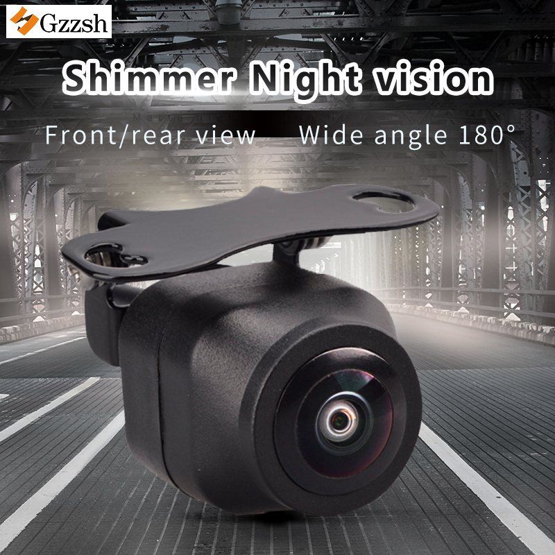 HD Rear View Camera Wide Angle 180°reverse Camera SonyCCD Night Vision Reverse Image Front View Side View Parking Camera