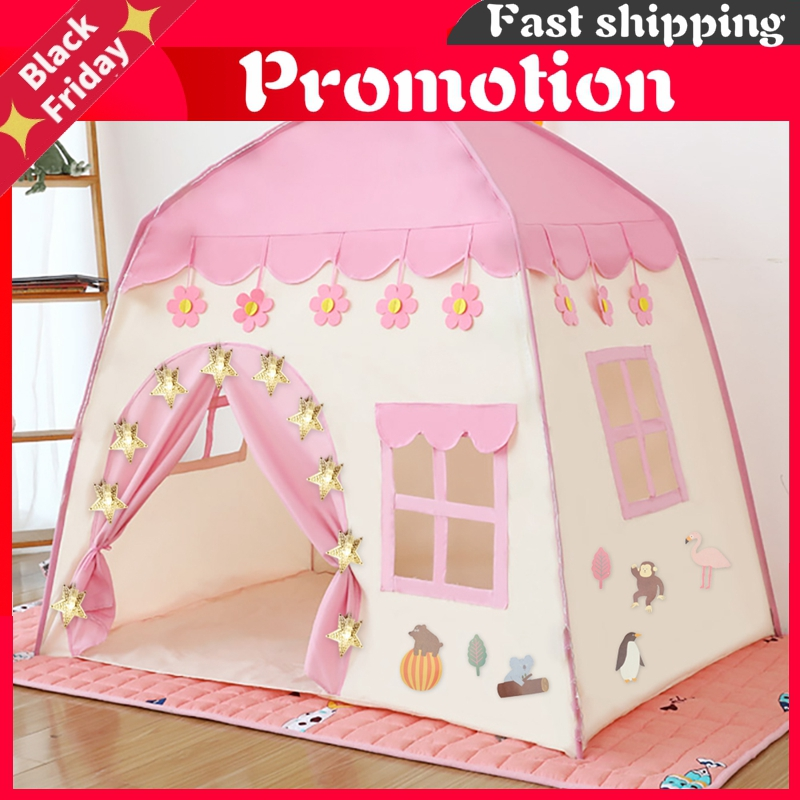 Kids Play Tent Children Indoor Outdoor Princess Castle Folding Cubby Toys Enfant Room House Beach Tent Teepee Playhouse