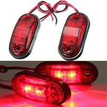 Side-Marker-Lights Lamps Lorry Truck Trailer Warning 24V 12V LED 2pcs