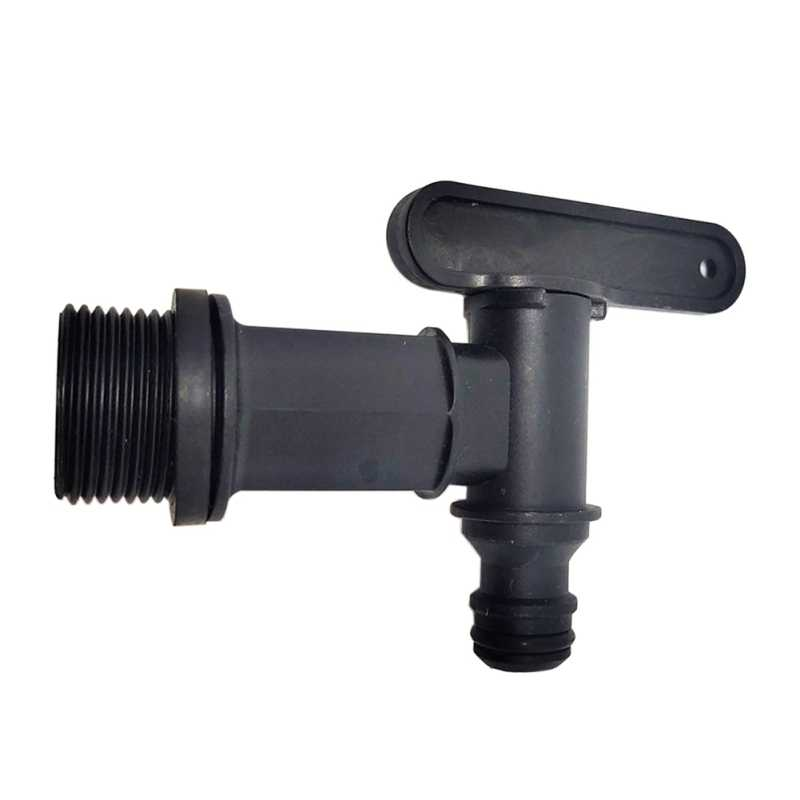 """3//4/"""" Thread Plastic IBC Garden Irrigation Connection Valve Hose Switch Fittings"""