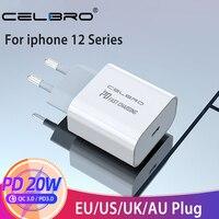 Adattatore per caricabatterie rapido USB tipo C PD 18W 20W per iPhone 12 11 Pro XR Xs Samsung S20 ricarica rapida EU US Plug Travel Power Adapter