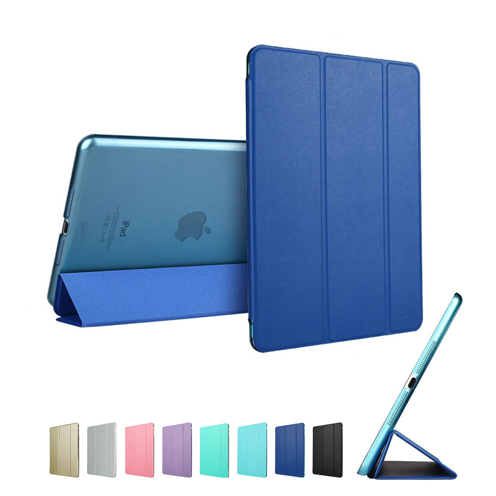 Navy Blue ESR PU multi-color Ultra Slim Light Smart Cover for iPad mini 4 2015 (A1538, A1550)