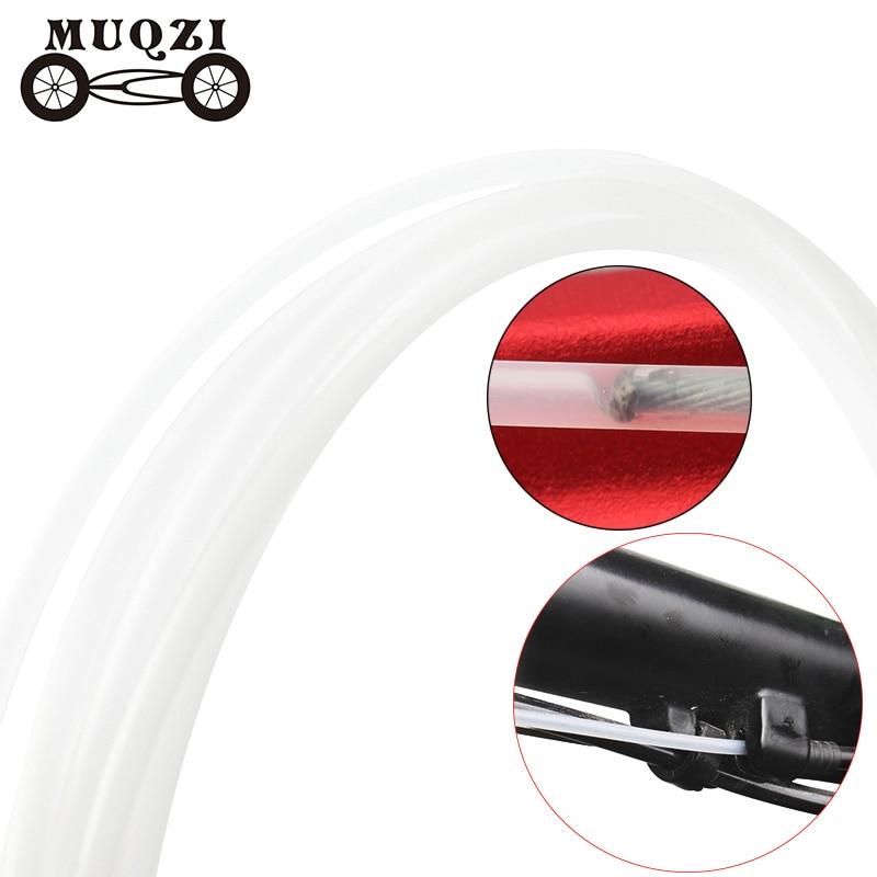 MUQZI Brake Shift Slick Lube Catheter Cable Wire Core Protection Sleeve Bushing Lubricating Oiling Outer Catheter MTB Road Bike