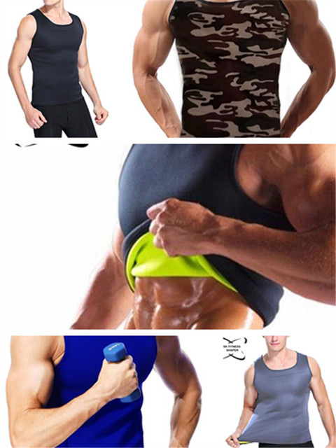Slimming Belt Belly Men Slimming Vest Body Shaper Neoprene Abdomen Fat Burning Shaperwear Waist Sweat Corset 4