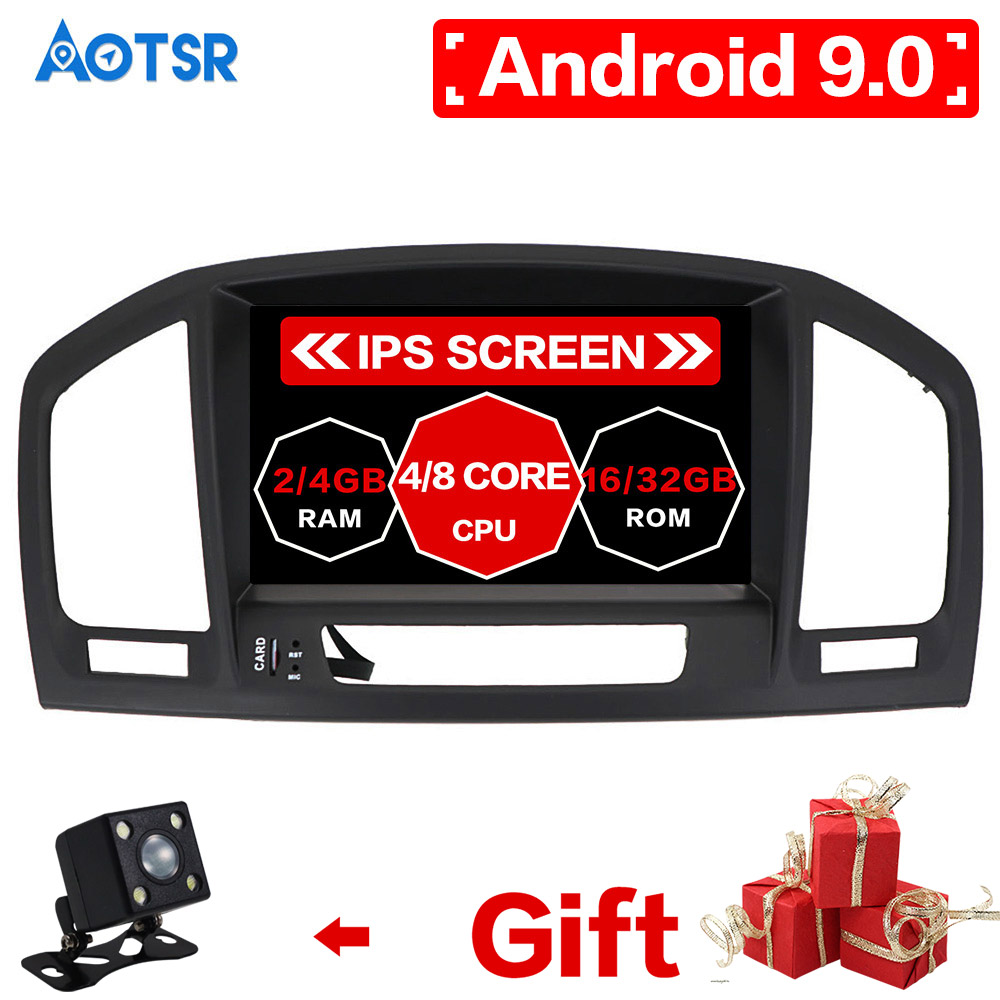 Android9 64GB Car DVD Player For Opel Vauxhall Holden Insignia 2008-2013 Head Unit GPS Navigation Multimedia Radio Tape Recorder