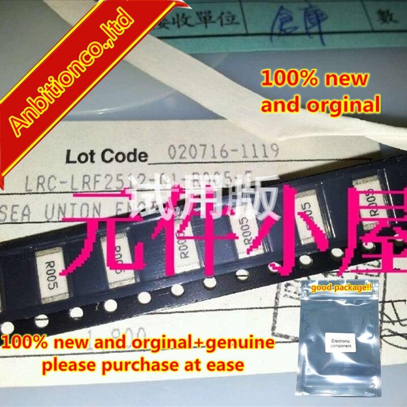 10pcs 100% New And Orginal LRC-LRF2512-01-R005-F 2512-0.005R 5 Milliohms 2W  In Stock