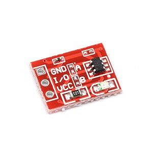 Сенсорный модуль TTP223, одноканальный самоблокирующийся сенсорный переключатель типа конденсатора для Arduino