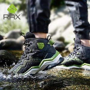 Image 1 - Кроссовки RAX мужские и женские кожаные, водонепроницаемая обувь для походов и отдыха на открытом воздухе
