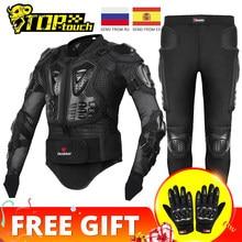 HEROBIKER-Chaqueta de motociclista para hombre, armadura de cuerpo completo para motociclista masculino de moto de carreras y Motocross, protección para motociclista, talla S-5XL