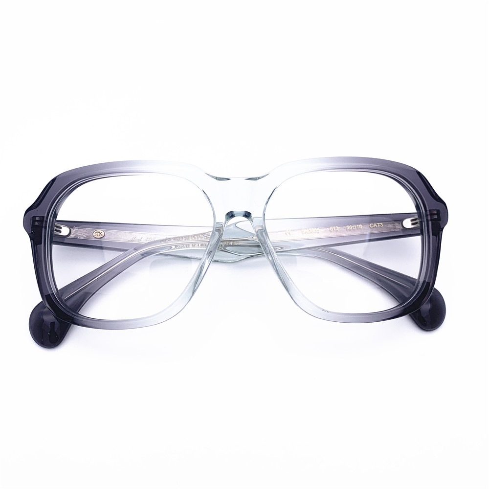 Belight Optical big intricate mottled decors a homage to the iconic Kirchhofer women Brand spectacle frame prescription SK3005