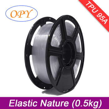 Tpu Filament 1Kg 1.75 Mm Elastic 0.5Kg 10M 100G Sample Material Nature Black Red Green Blue Yellow Color