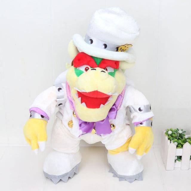 Us 7 48 25 Off Super Mario Odyssey Wedding Dress Cappy Luigi Princess Peach Bone Kuba Dragon Dark Bowser Koopa Plush Toys In Movies Tv From Toys