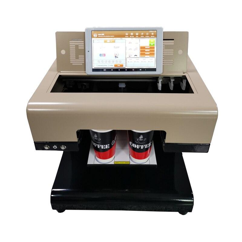 Impresora 3D y tableta para repostería pastelería empresas cafeteras