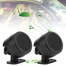 2Pcs Universal High Efficiency Car Mini Dome Tweeter Loudspeaker Loud S