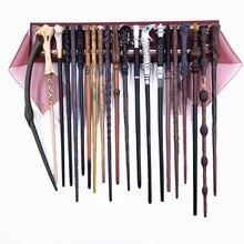 24 Kinds of Metal Core Potters Magic Wands Hermione Ron Bellatrix McGonagall Magical Wand Harried Box Malfoy Voldmort