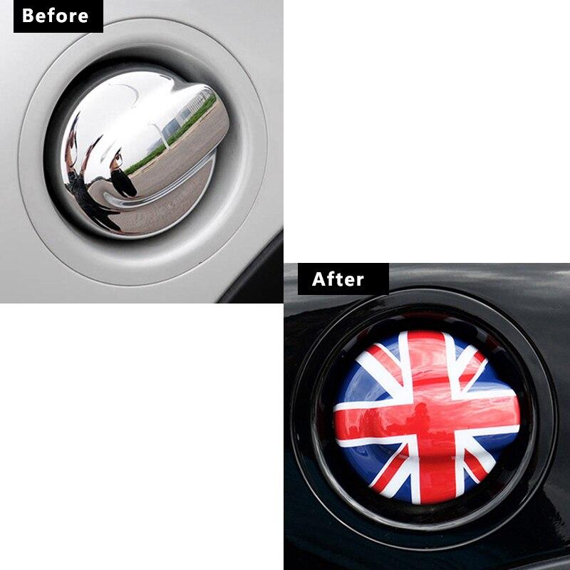 Car fuel tank cap Filler lid decoration car Sticker For BMW MINI COOPER S R55 R56 Car accessories Exterior styling Modification