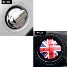 Car fuel tank cap Filler lid decoration car Sticker For BMW MINI COOPER S R55 R56 Car accessories Exterior styling Modification стоимость