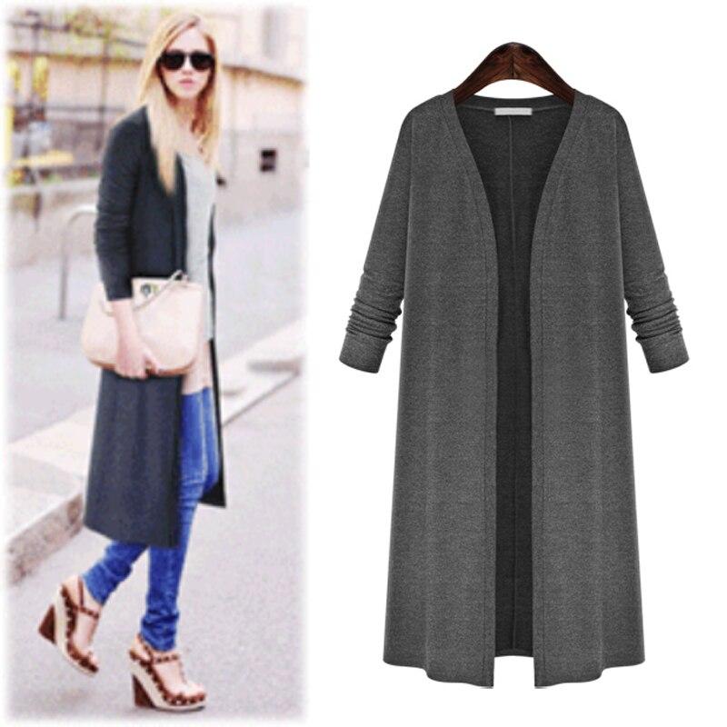 Large Size 5XL 2018 Autumn Winter Fashion Women Cardigan Coat Long Sleeve Knited Cardigan Sweater Female Pull Femme