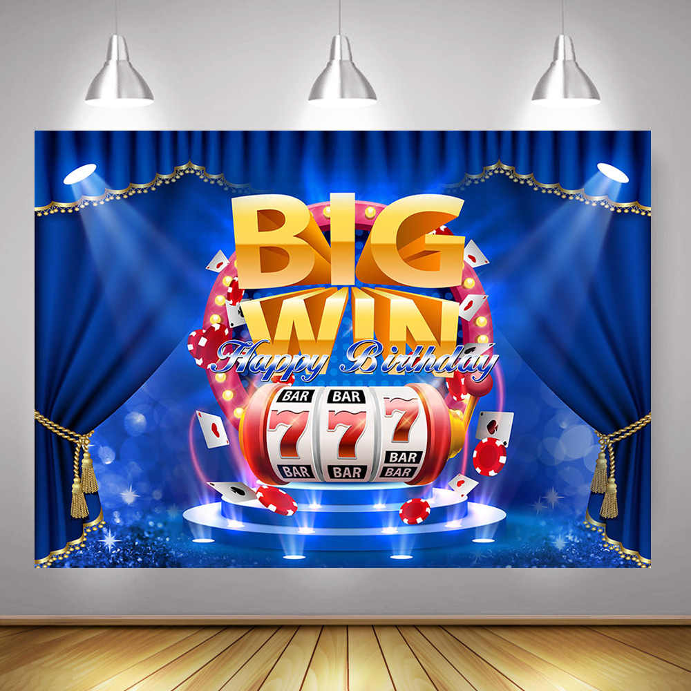 SDDSER Bar Entertainment Background Macau Slot Machines Photo Backgrounds for Adult Party Backdrop Photography 7X5FT Party Supplies MSDZY374