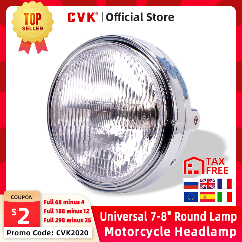 CVK Motorcycle <font><b>Headlight</b></font> Headlamp Head Light For <font><b>HONDA</b></font> Hornet CB400 CB500 CB600 CB1300 <font><b>VTR250</b></font> CB250 VTEC400 CB VTEC 400 Lamp image